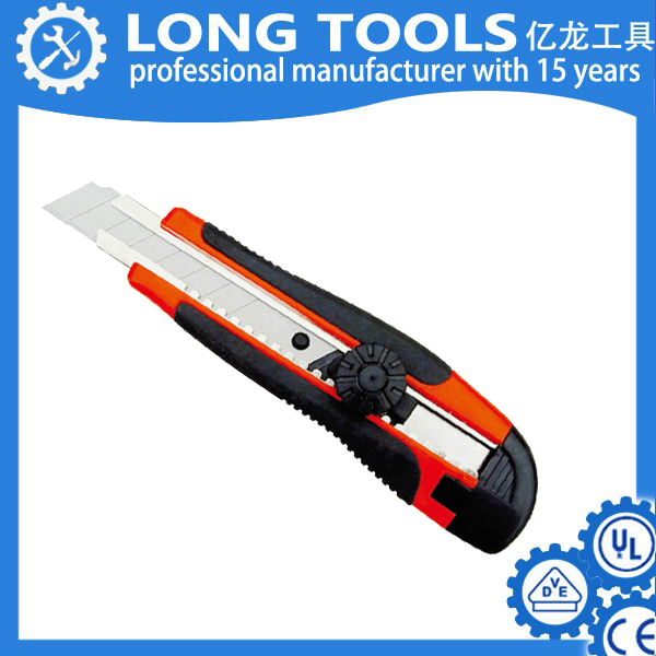 2015 new product Best Selling Utility Knife/Cutter/Single Blade /Plastic Hand Tool