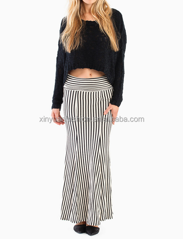 Fashion Long Tight Skirts,Long Sexy Tight Skirt For Women,Striped ...