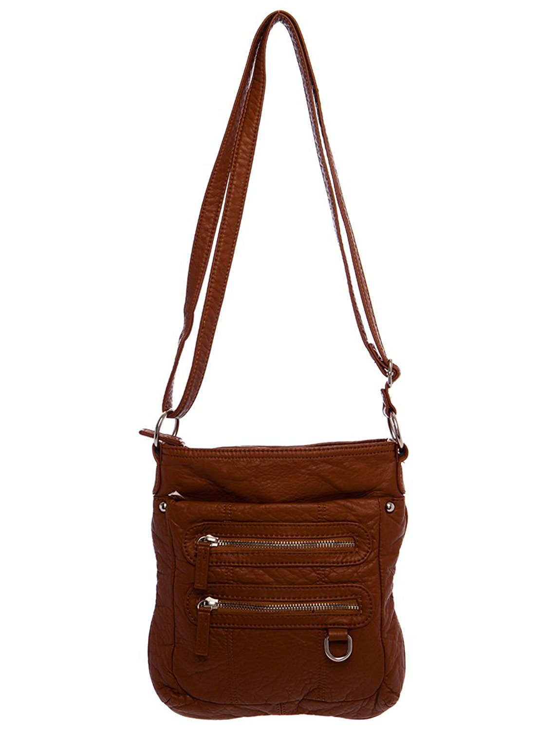 Get Quotations Soft Vegan Leather Handbag Crossbody The Willa By Ampere Creations