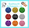 Aluminium Alloy Engraved Logo Phrases ID Tag Pet Cat Dog Names Picture