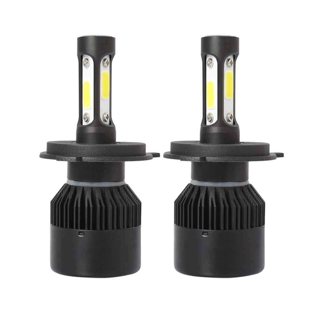 Xuanhemen 2Pcs H1 H4 H7 H11 Car Auto Led Headlight Bulb Replacement 36W 6500K Car Head Lamp Bulb Light IP67 Waterproof
