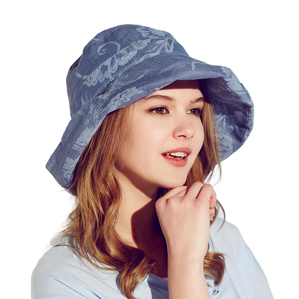 89f5b9df7b3 Buy New 2015 Hat Women Outdoor Beach Bucket Hat Famous Brand Kenmont Chapeu  Feminino Women Sun Hat Fashion Kentucky Derby Hat B-3179 in Cheap Price on  ...