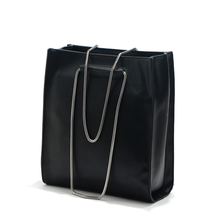 b9a72fb521 Get Quotations · 2015 Luxury Black Leather Handbags Women High Quality Tote  Bags Big Brand Designer Hand Bag Female