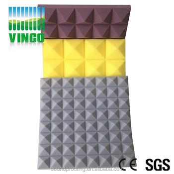 Open Cell Acoustic Insulation Sound Proofing Foam Factory Pyramid Acoustic  Foam Sponge Panels - Buy Sound Shield Acoustic Foam Panel,Melamine Acoustic