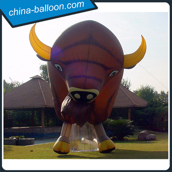 Giant Inflatable Bison Large Inflatable Buffalo Model With Logo Printing -  Buy Inflatable Bison,Giant Inflatable Bison,Inflatable Buffalo Product on