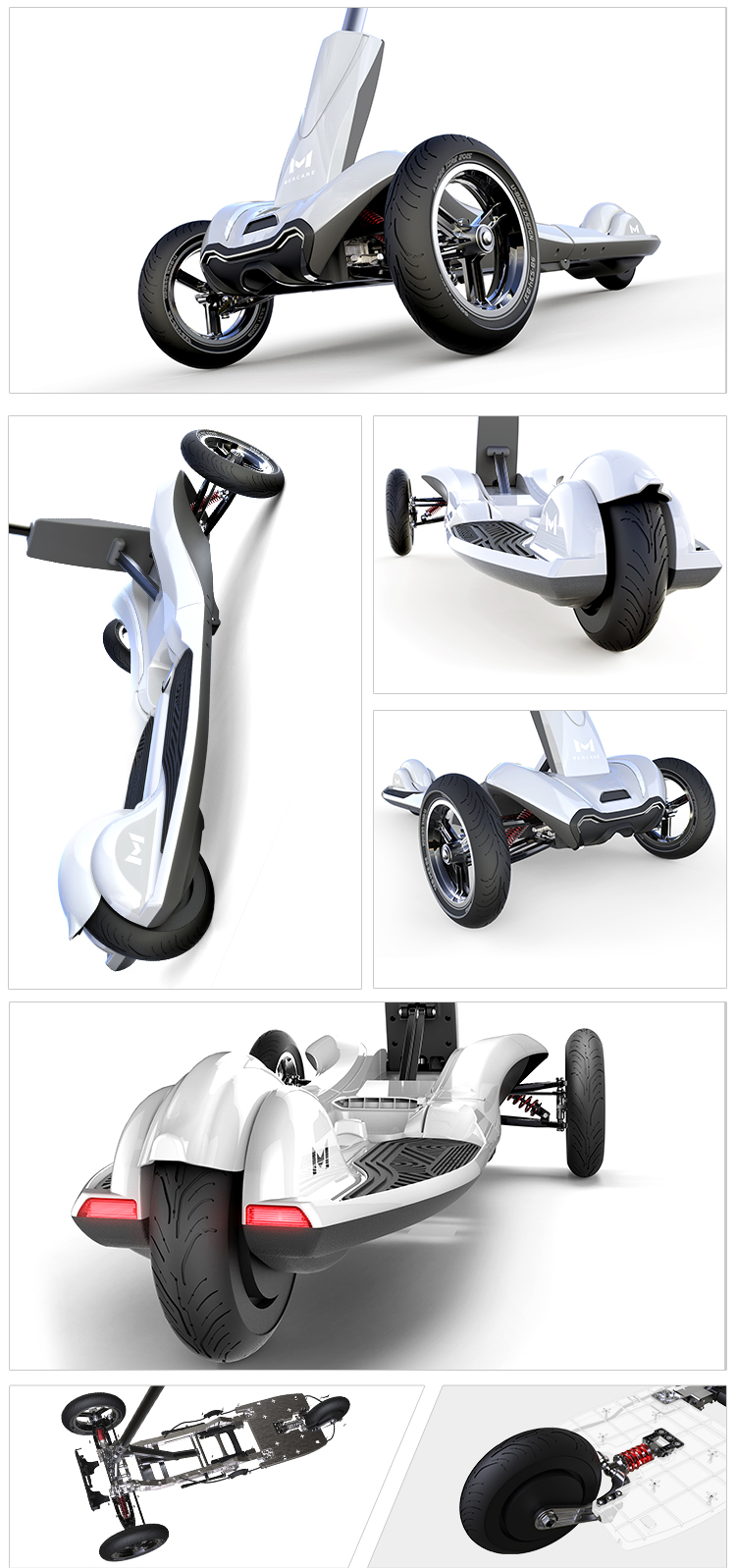 Chinese products wholesale foldable 3 wheel custom china electric scooter