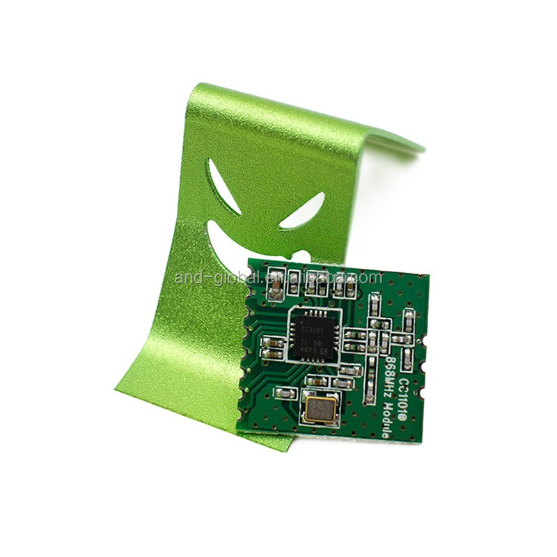 CC1101 868 MHZ wireless module with spring antenna