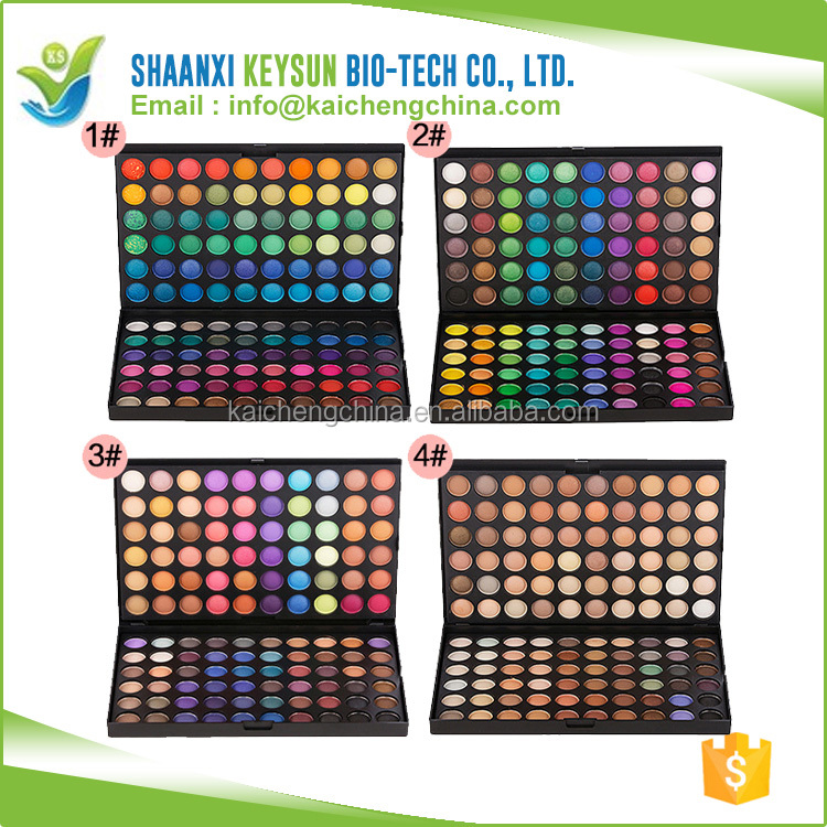 Recommend New colors box 120 Color Eye Shadow Makeup Cosmetic Cheap Eyeshadow Palette +Brush