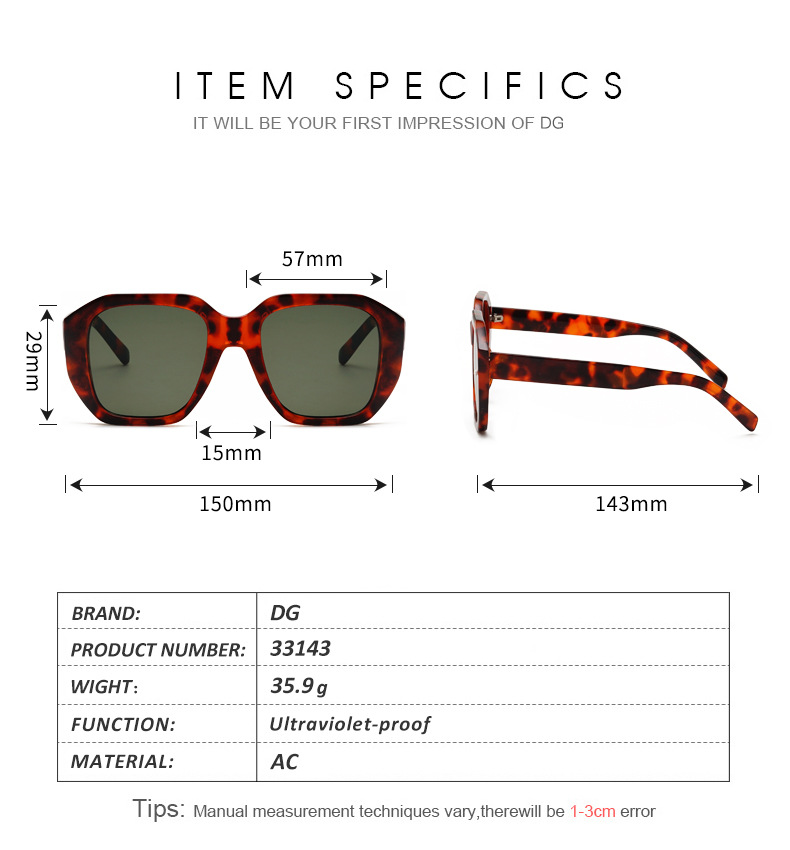 HJ 2019 Hot Sale New Design Shade Women Sunglasses Photochromic Ins Celebrity Street Photography Sun Glasses