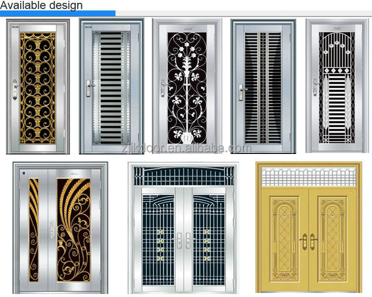 Home safety door designs