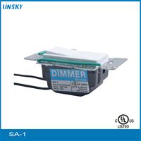 Shanghai UL listed 600W Single Pole 120V 60HZ White Multi-Location Indoor Slide Dimmer Switch Radio