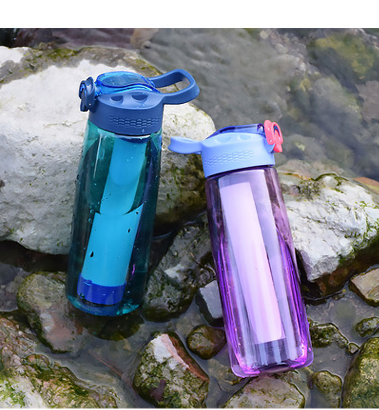 2020 New BPA Free Portable Sporting Filter Alkaline Hydrogen Water Bottle With Straw