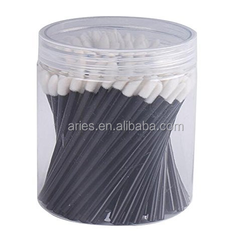 PVC Box Packing Plastic Handle Disposable Lip Gloss Wands
