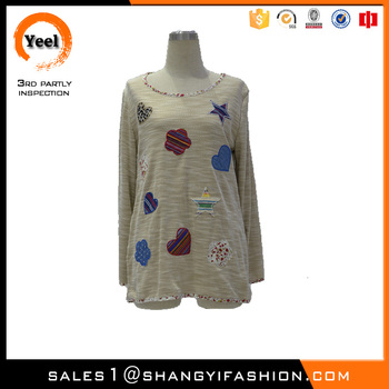 YEEL clothing factories in china fashion style lady wool rock Breathablewool sweater design for girl