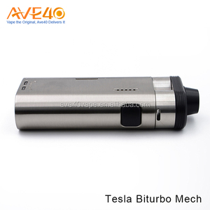 Ave40 newest Tesla Biturbo Mech mod e-cigarette