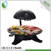 Smokeless outdoor barbecue grill covers outdoor