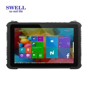 dual os build in USB rugged android tablets 2017 with sun light readable HD screen RJ45