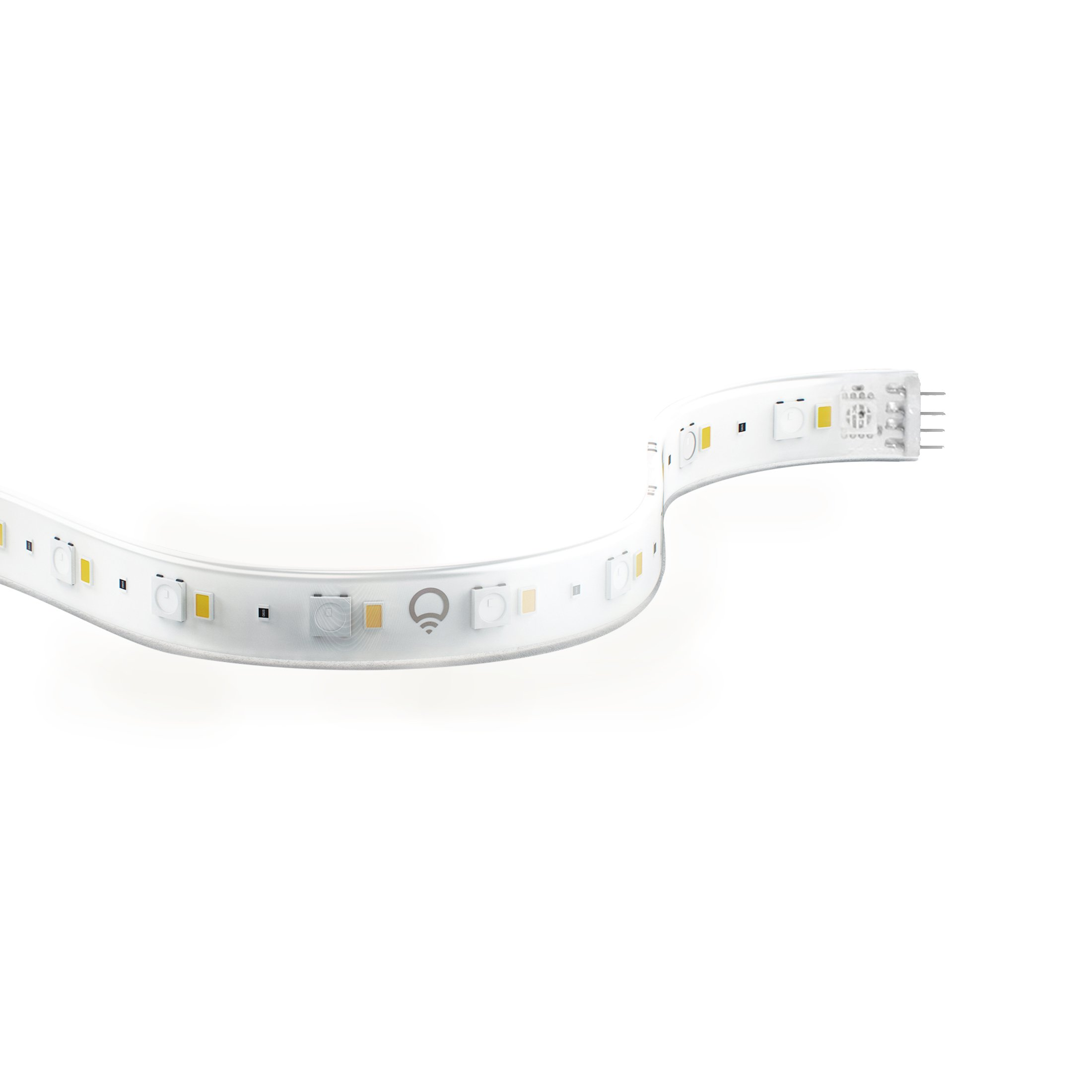 LIFX Z (Starter Kit) Wi-Fi Smart LED Light Strip (Base + 2 meters of strip), Adjustable, Multicolor, Dimmable, No Hub Required, Works with Alexa, Apple HomeKit and the Google Assistant (NEW VERSION)