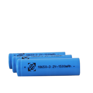 Factory Supply Lithium ion Cell 18650 3.2V 1500mAh With KC & BIS Certificate For Solar Battery