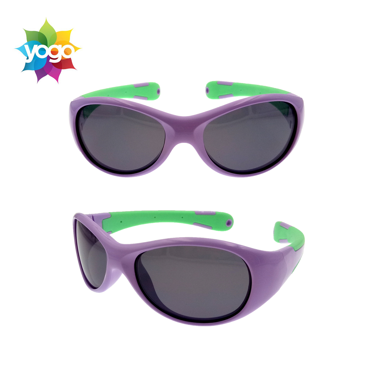 Best price hot promotion cute purple baby sunglasses