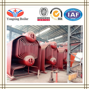 SZL6-1.6-AII horizontal double drum chain grate stoker steam boiler for sale