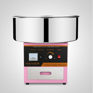 Automatic Flower Sugar Floss Candy Cotton Machine Maker