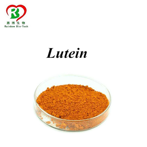 Xi'an Rainbow supply 100% Pure Lutein Zeaxanthin, Lutein Price, Lutein Powder