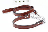 Eco-friendly Luxury Amazon Genuine Leather Pet Leash