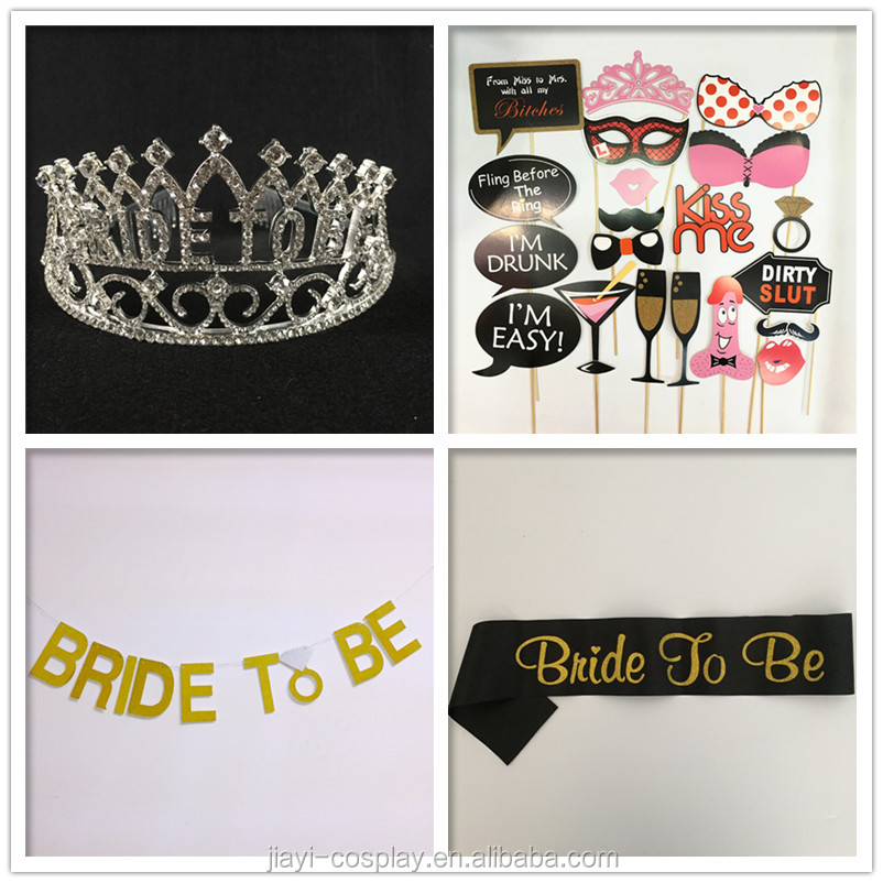 Wedding party bride gift box bride accessories for party
