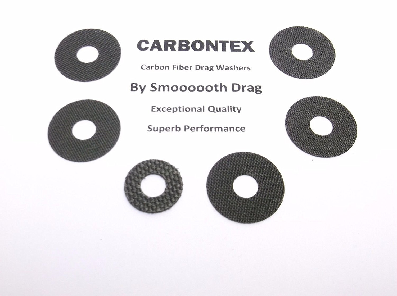 Daiwa Reel Part Smooth Drag Carbontex Washers #SDD155 5 Saltiga Surf 5000 -