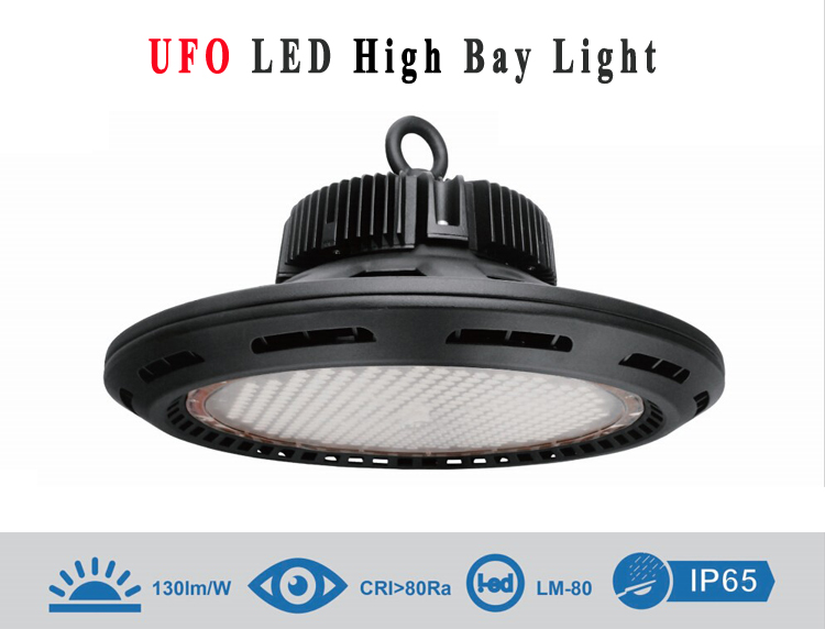 Meanwell driver with Philips chip Ip 65 Ufo Led High Bay Light 100w