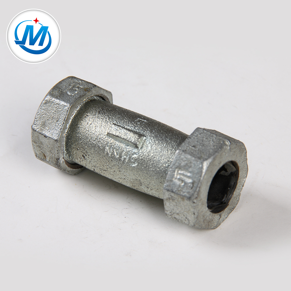Malleable Iron Pipe Fitting Long Compression Coupling