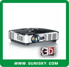 500Lm pico <span class=keywords><strong>dlp</strong></span> 3D projector with HDMI in, VGA, AV in, USB (SMP7047A)