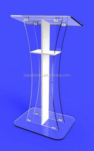 Newest hot-sale tabletop acrylic podium pulpit lectern