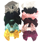 Holiday Headband Baby Holiday Photography Cotton Elastic Hair Band Gold Velvet Big Bow Headband Hair Accessories