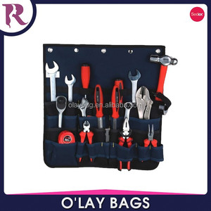 Heavyweight Custom printing waterproof oxford wall tool organizer,tool organiser for hardware