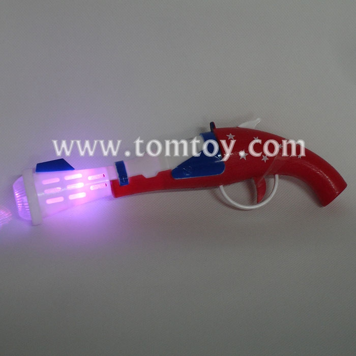 Music LED Flashing Toy Gun