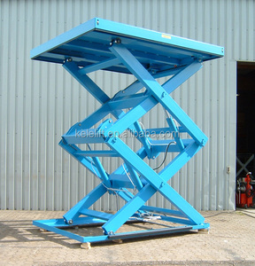 In-ground scissor car lift\/fixed car elevator\/hydraulic car lift price scissor car lift full rise scissor lift