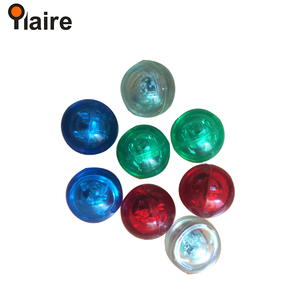 Popular 49mm led flashing bouncing ball with different body color