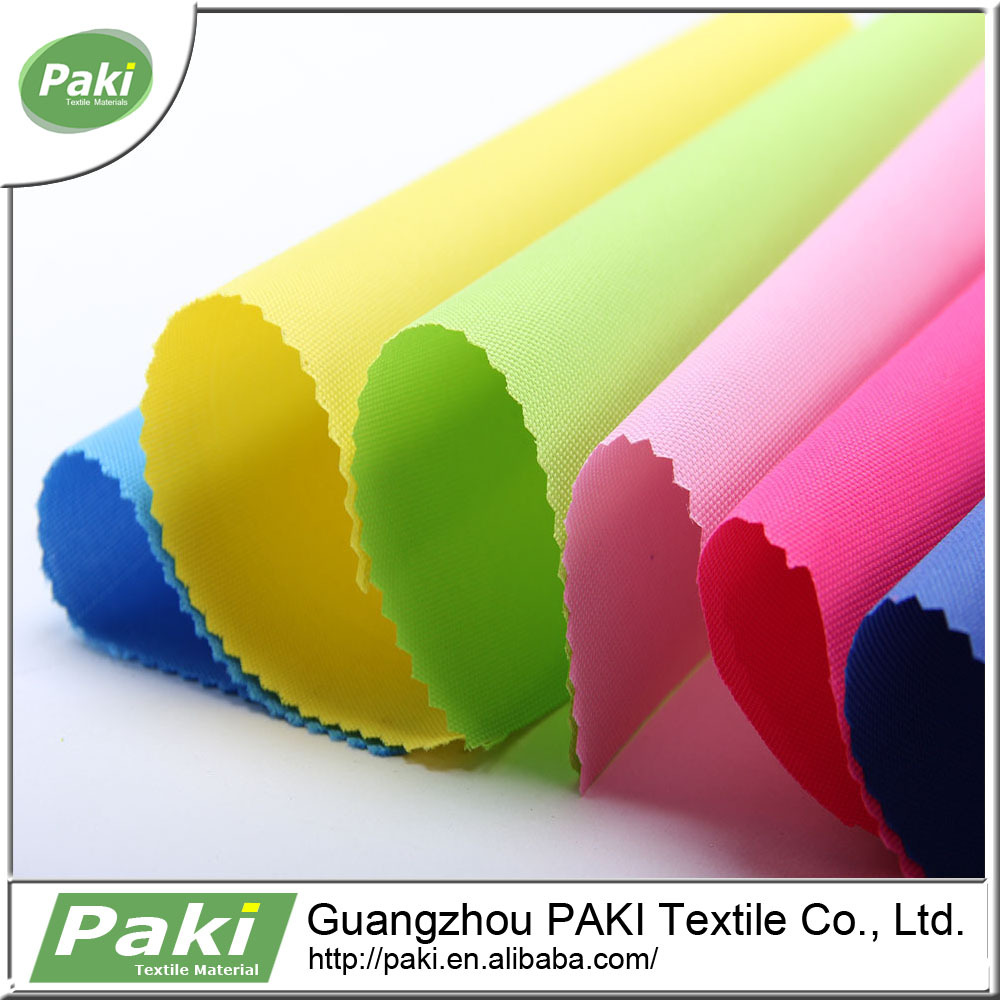 wholesale polyester 600d oxford fabric with PU coating in stock