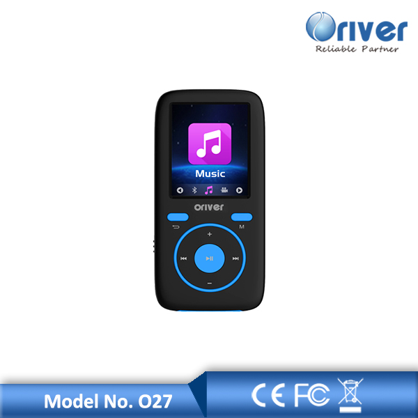 with pedometer and FM function mp3 mp4 player from Oriver