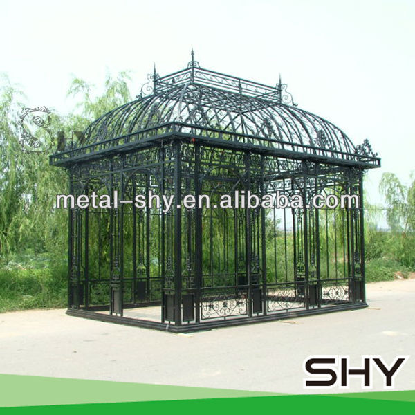 2014 Decorative Steel Pole Gazebo ,Steel Gazebos for Sale
