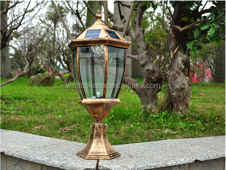 Hot Sale European Antique Aluminun Outdoor Lighting Wall Lamp