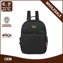 Factory Fashion Laptop Backpack Nylon Quilt Backpack