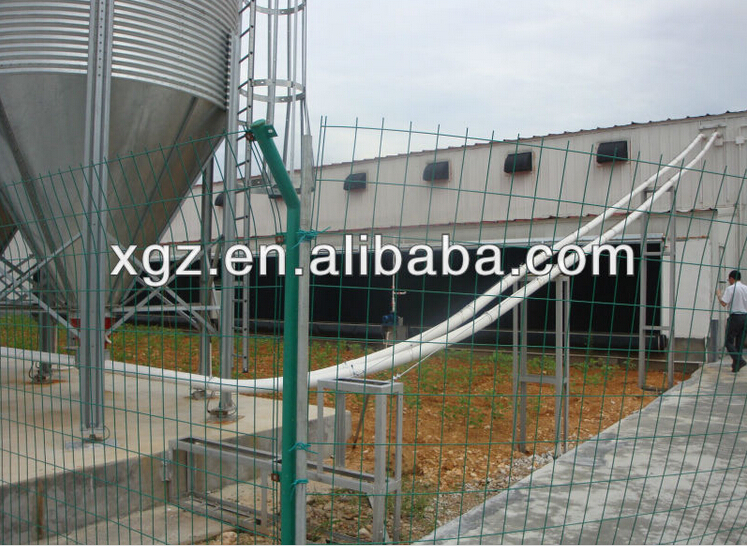 Multi-tier H type advanced prefab chicken houses for chicken farm made in China