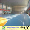 PVC material used basketball floor for sale plastic floor covering