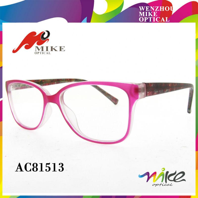 El último 2014 gafas de marcos para las niñas, brillante color de ...