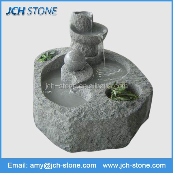 Accept custom design samll water fountain mold