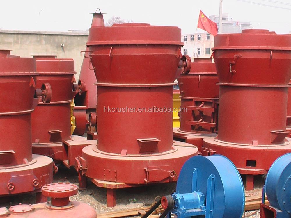 principle of raymond roller mill