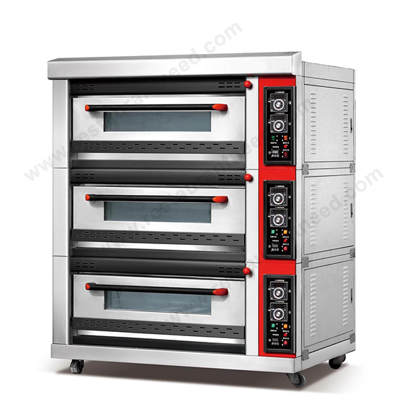 (Ce Approval) High Quality K045 Ovens For Sale 3 Deck Rotary Oven For Bakery